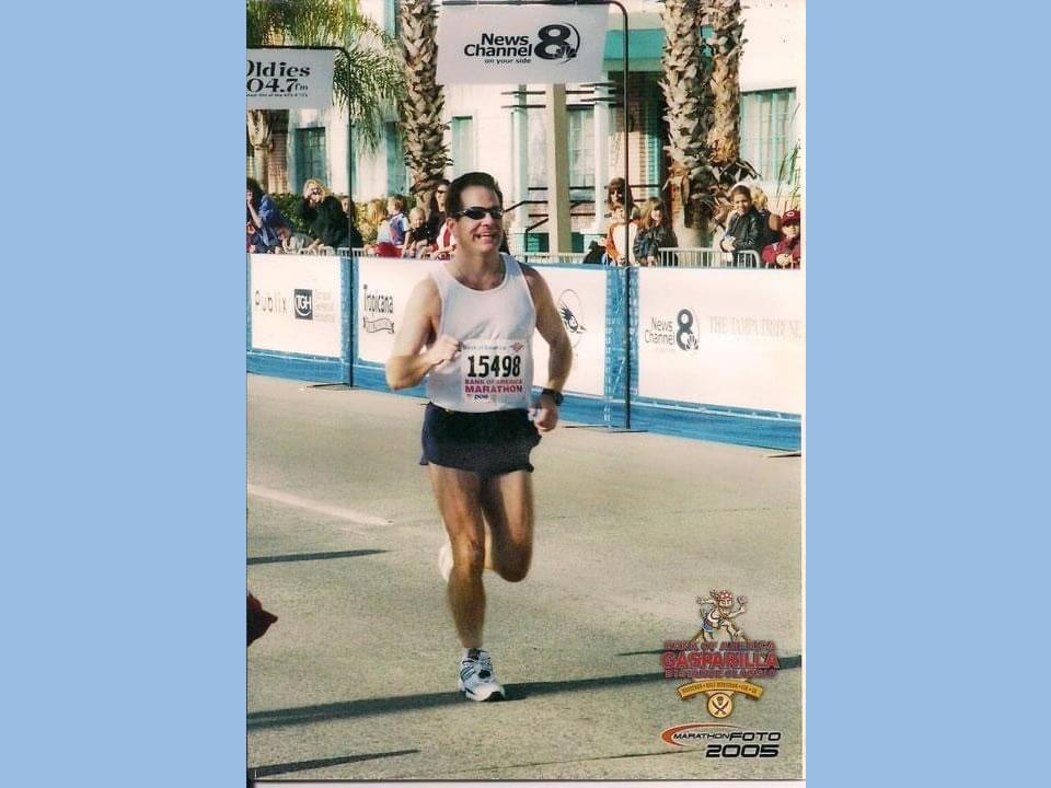 2nd Marathon - Gasparilla Marathon 1st time qualifying for Boston Marathon Personal Best
